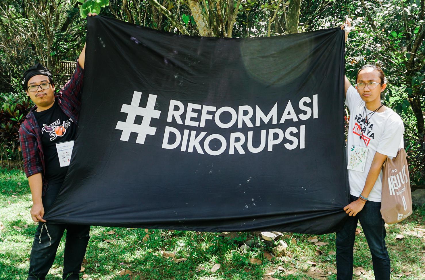 #Reformasi #Dikorupsi