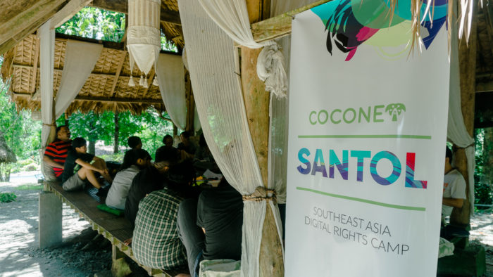 A Session at Coconet. Image by M. Bree