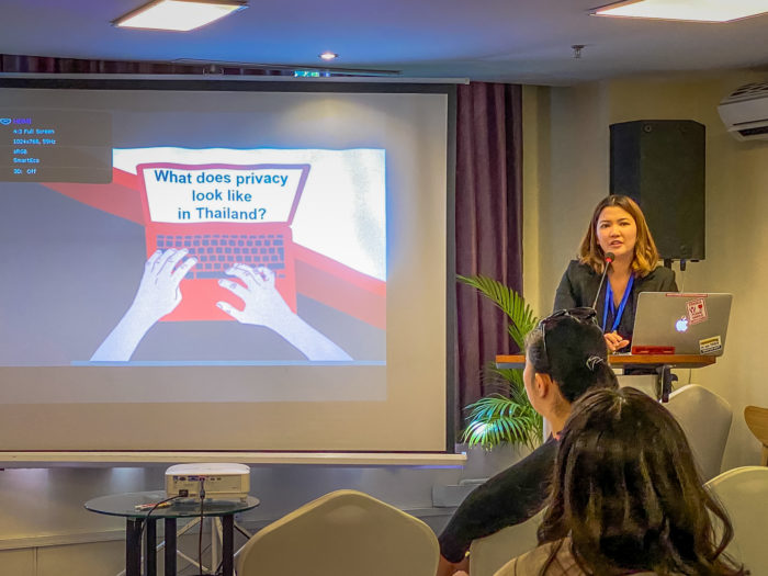 Darika Bamrungchok of EngageMedia likens Thailand's Personal Data Protection Bill to the General Data Protection Regulation (GDPR) in the European Union.