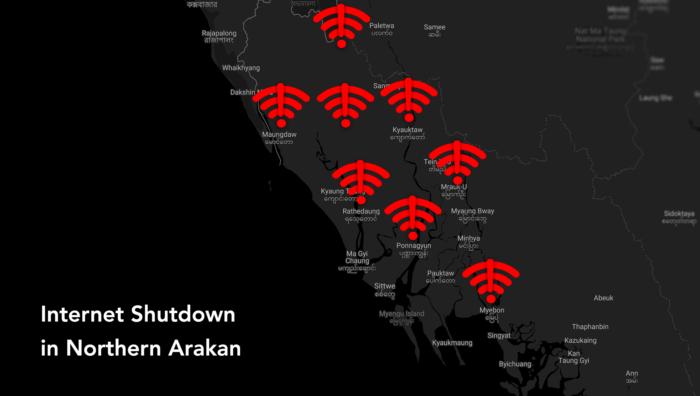 Internet Shutdown Myanmar Rakhine Arakan Chin
